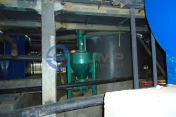 Froth Pump working at Paper factory