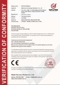 CE Certificate for Humidifier -VOC