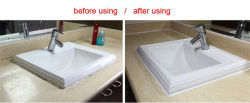 the picture for using the product for wash basin
