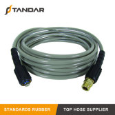 High Tensile Wire Braided Power Rubber Pressure Washer Replacement Hose for Car Wash