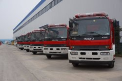 113 units fire fighing truck for exporting