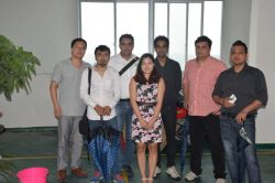 The customers from india visited our factory