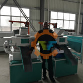 Fish feed machine and hammer mill crusher