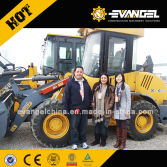 Marshell Islands Clients Visited XCMG Factory For Mini Wheel Loader