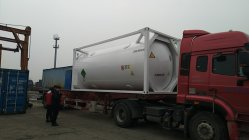 Cryogenic ISO Tank Container Exported to European Market