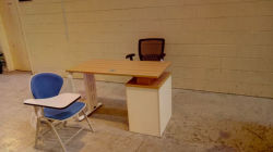 Student chair and tables in Saudi arabia