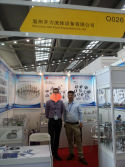 Take Photo with My Client on Shenzhen Exibition