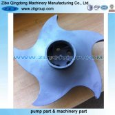 Durco Mark 3 ANSI Chemical Centrifugal Pump Impeller