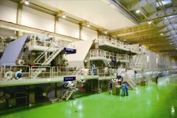 VOITH PAPER MACHINE WITH DCS CONTROL AND HIGH TECHNOLOGY ENGINEER