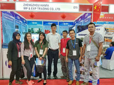 Hanfa group has attracted many customers to visit our equipment in the JAKARTA?INTERNATIONAL?EXPO Fair.