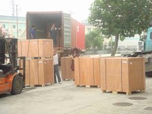 11. Motors of 40 Container to Germany