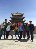 Passion Team at Jiayuguan Great Wall