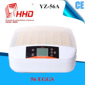 Newly designed transparent automatic egg incubator/egg hatcher YZ-56A