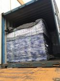 acrylic sheet loaded in 20GP container
