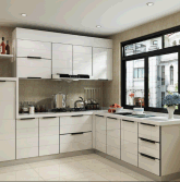 Shandong Hot Sale Customizable Modern Wooden Kitchen Cabinet