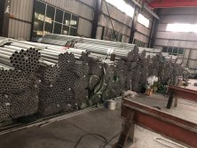 Warehouse Stock of stainless steel pipes
