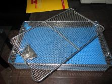 Stainless Steel Surgical Instruments Sterilization Basket