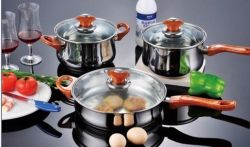 italian stainless steel cookware