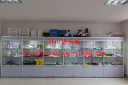 hot sale plastic sample products showing room