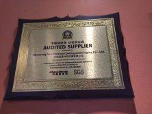Audited suppiler
