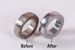 steel bearing polishing