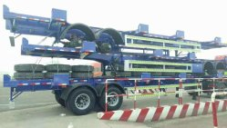 45FT Port Container Trailers Exported to South America