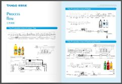 juice water carbonated beverage production line flow