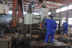 Use Machine to Process Steel.