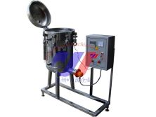 Vertical type small model canned autoclave sterilizer retort