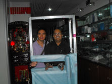 With The Customer From Pakistan