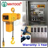 3T Electric Chain Hoist with Hook with Clutch for 2 Floor Cargo Lift Elevator