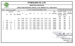 Company Overview - HYSEALING CO , LTD