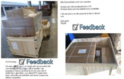 Customer feedback on raw materials for boat building