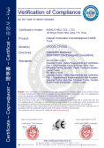 CE Certification for Internal combustion counterbalanced forklift truck model CPCD20