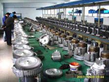Working Line of Vacuum Pump 02