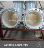 The reason why abrasion resistant ceramic lined pipe is so popular ?