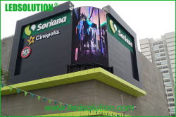 Outdoor Curve LED Display