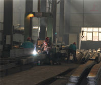New H type steel wertical machine group