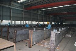 Steel production workshop