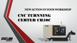 New turning center is on the way!