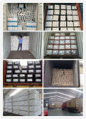 Aluminum/Aluminium proifles OEM package and loading