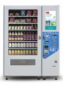 Smart vending machine with touch screen