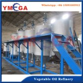Vegetable seeds edible oil refinery machine
