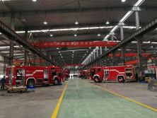Fire fighing Truck Workshop