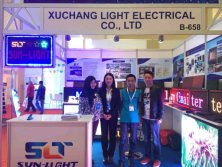 2015 Turkey led lighting exhibiton ,we exhibit our led display