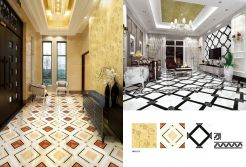 crystal polished porcelain tile