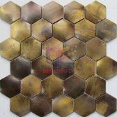 Latest New Copper Mosaic Tile(CFM1087)
