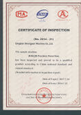 certificates of inspect