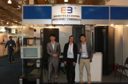 NETCOM 2013 exhibition in Paulo.Brazil from 27th to 29th Aug