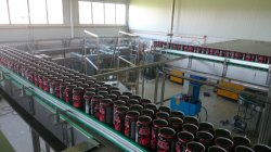 Macedonia energy drink canning line